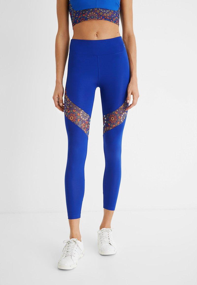 Desigual - Legging - blue