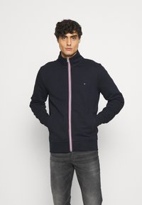 Tommy Hilfiger - CORE ZIP THROUGH - Zip-up hoodie - blue - 0