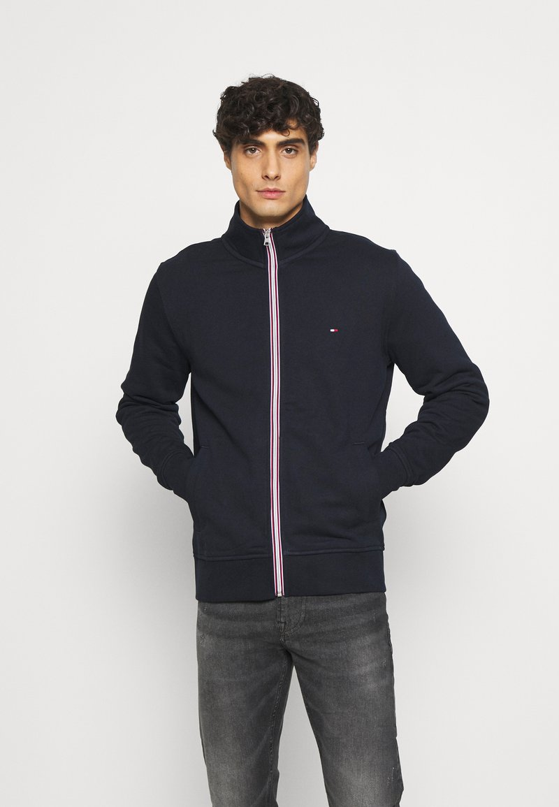 Tommy Hilfiger - CORE ZIP THROUGH - Zip-up hoodie - blue