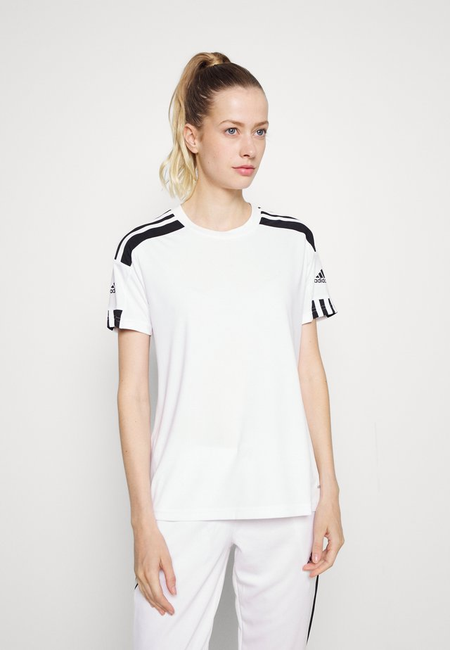 SQUADRA 21 - T-shirt print - white/black
