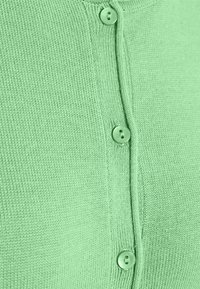 TOM TAILOR - SMALL BUTTONED UP - Cardigan - soft leaf green - 2