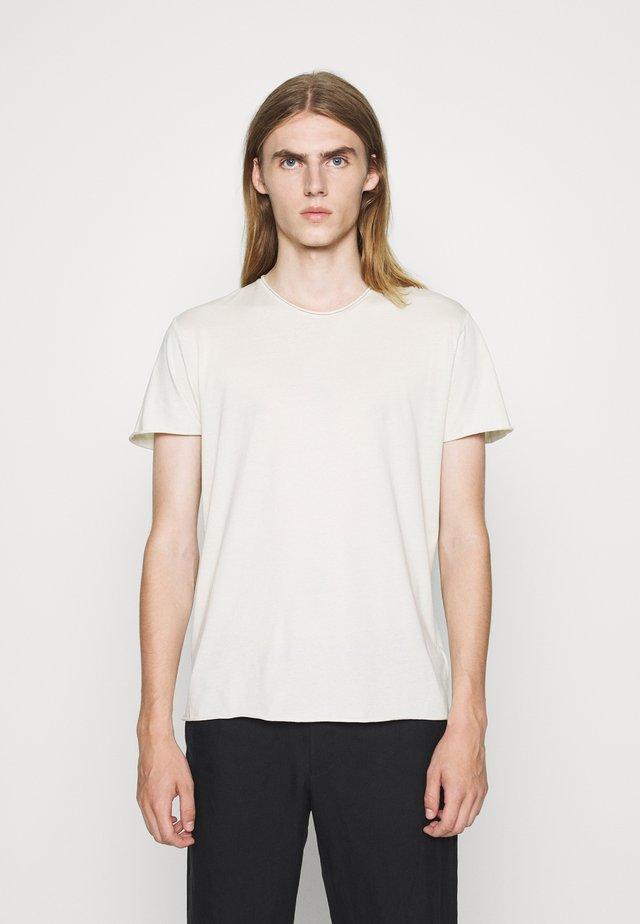 Camiseta básica - ivory