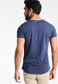 Pier One - Basic T-shirt - navy - 2