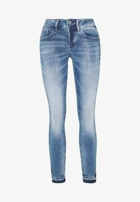G-Star - LYNN MID SKINNY RP ANKLE WMN - Jeans Skinny Fit - sun faded azurite - 5