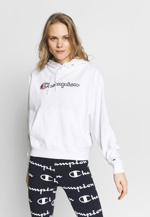 HOODED - Jersey con capucha - white