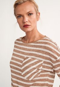 comma casual identity - Long sleeved top - brown stripes - 4