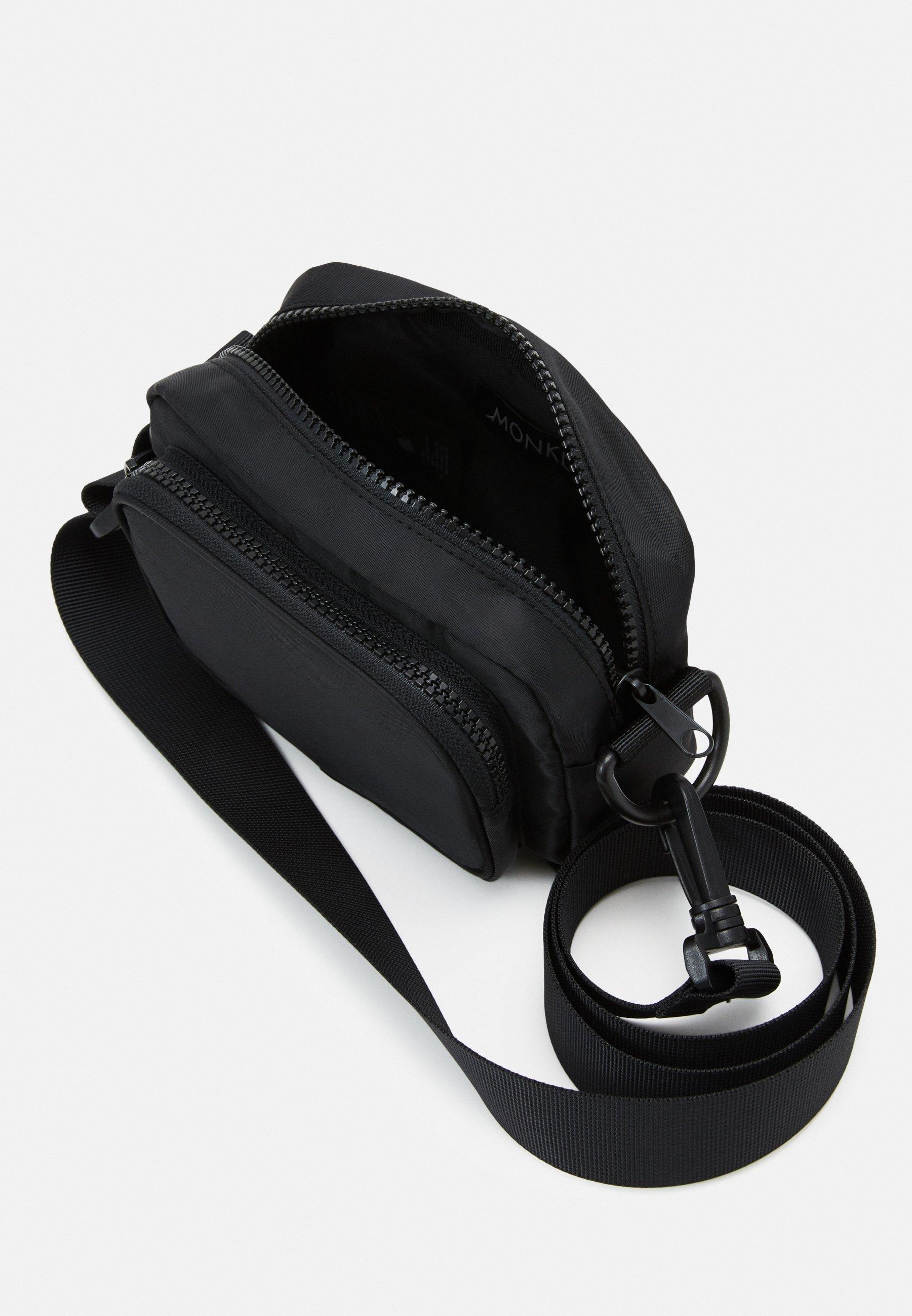 Monki JINDER BAG Skulderveske black nylonsvart Zalando.no