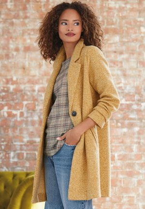 COATIGAN - Classic coat - yellow