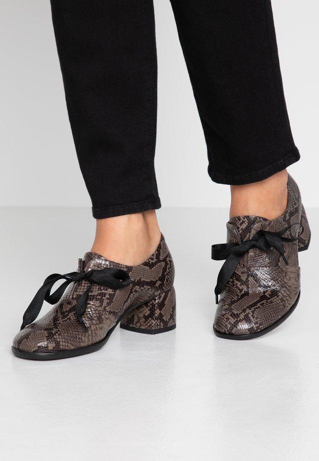 ROBIN - Boots à talons - taupe
