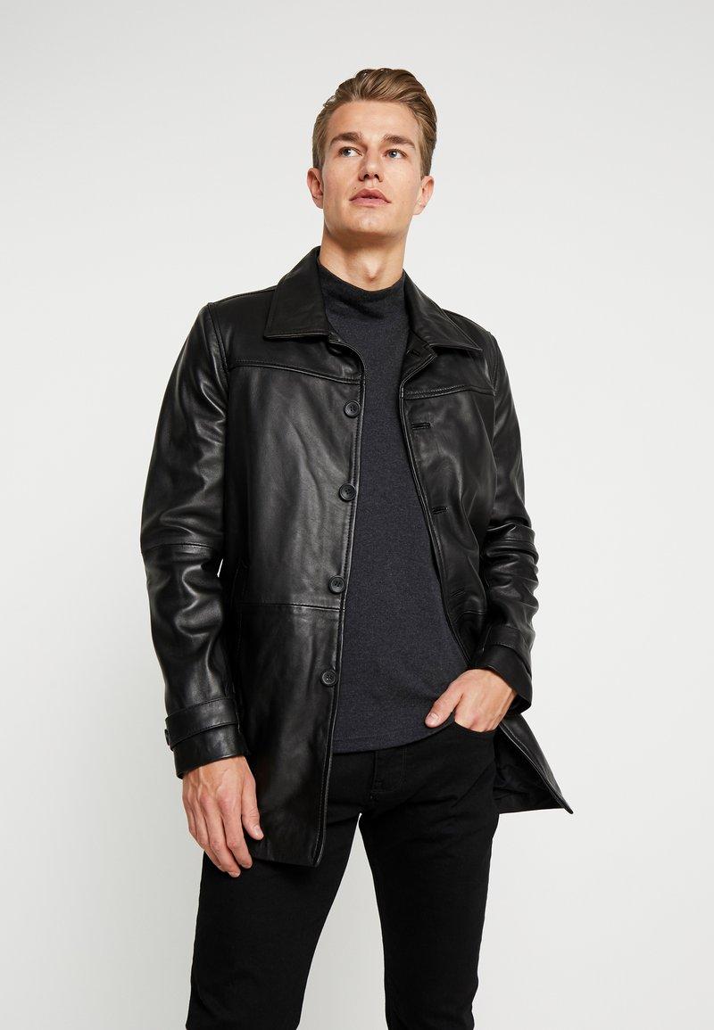 Serge Pariente - HARRY - Leren jas - black