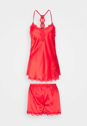 TOP WITH SHORTS - Pyjama - red