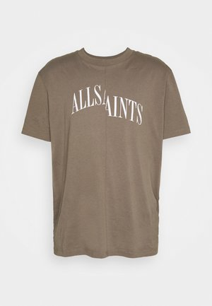 DROPOUT CREW - T-shirt print - washed khaki brown