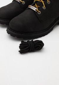 Harley Davidson - HEDMAN - Lace-up ankle boots - black - 5