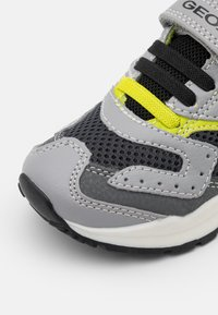 Geox - PAVEL - Trainers - grey/lime - 5