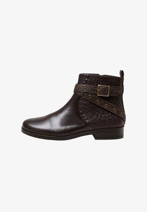 OTAWA_MANDALA - Cowboy/biker ankle boot - brown