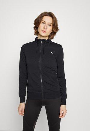 ONPELINA HIGH NECK - Zip-up sweatshirt - black