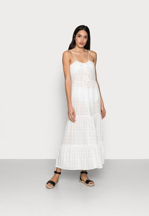 ONLLISE LONG BEACH DRESS - Day dress - cloud dancer