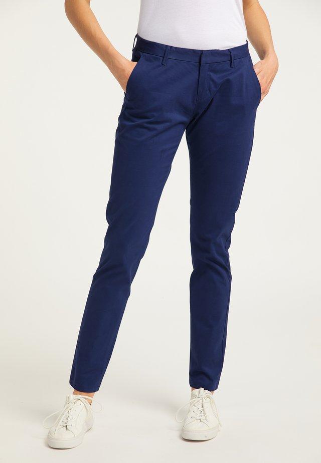 Spodnie materiałowe - dunkelblau