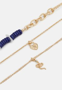 LIARS & LOVERS - BEAD AND CHAIN MULTIROW NECKLACE 3 PACK - Necklace - gold-coloured - 2