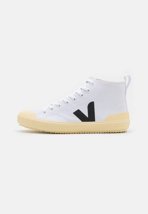 NOVA  - Höga sneakers - white/black/butter