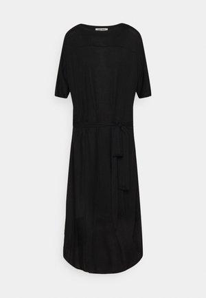 PIPETTE DRESS - Žerzejové šaty - black