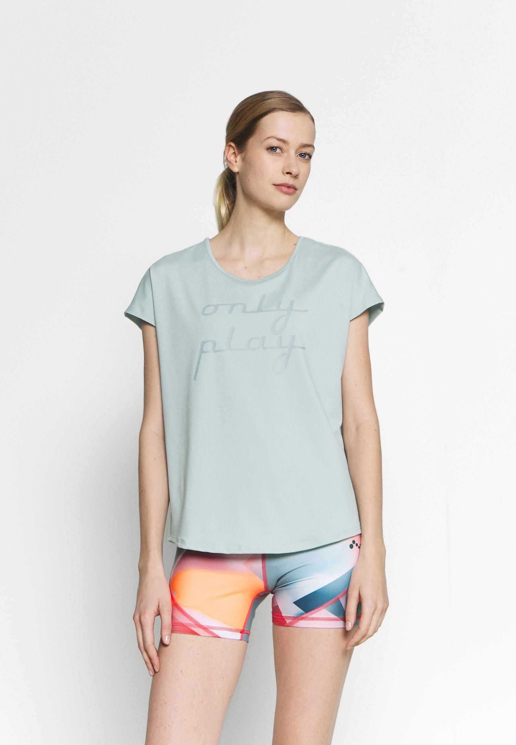 Femme ONPFUDIE LOOSE TRAIN TEE - T-shirt imprimé