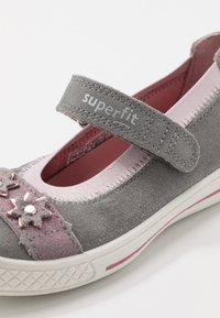 Superfit - TENSY - Ankle strap ballet pumps - grau - 5