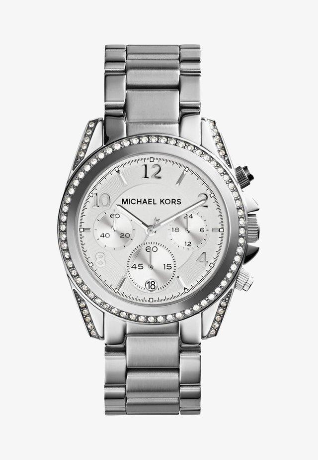BLAIR - Chronograph watch - silver-coloured