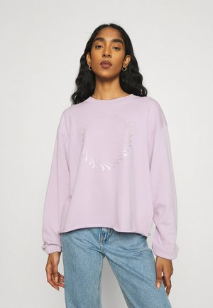 CLASH CREW - Sweatshirt - iced lilac/light violet