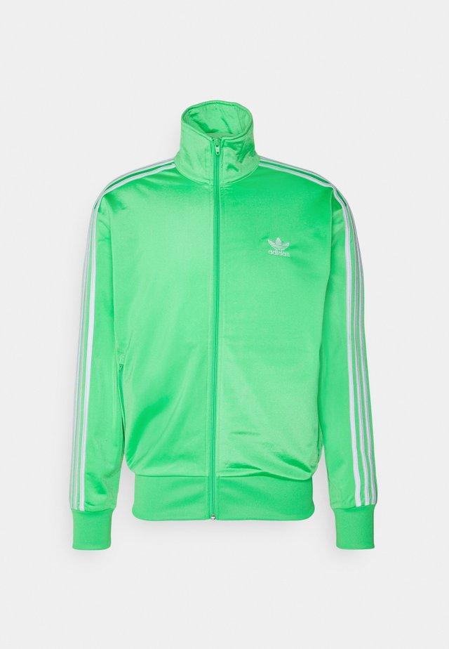 Training jacket - semi screaming green