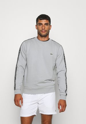 TAPERED - Sweatshirt - hellgrau