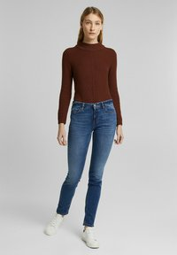 Esprit - FASHION  - Slim fit jeans - blue medium washed - 1