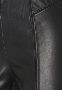 comma - Kalhoty - black - 2