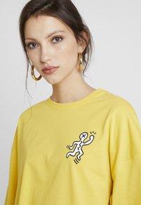 Even&Odd - Print T-shirt - ochre - 3