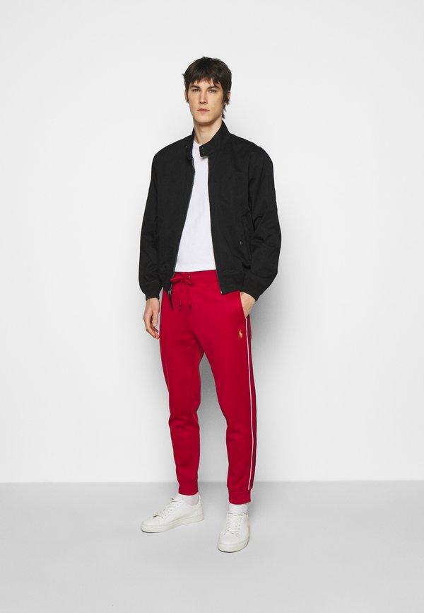 Polo Ralph Lauren LUX TRACK - Spodnie treningowe - red/czerwony Odzież Męska IIVR