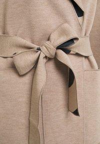 Vila - VIJUICE ZEBRA COAT - Classic coat - natural melange - 7