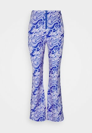 ADELE PANTS - Trousers - purple liquid
