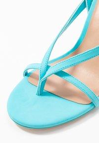Call it Spring - ZELDAA - Sandály na vysokém podpatku - bright blue - 2