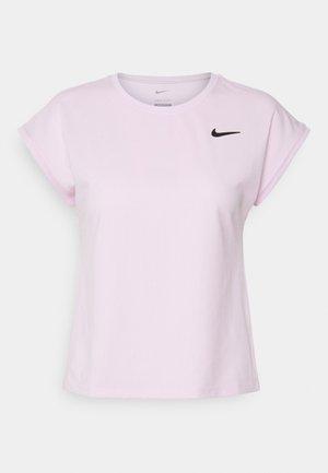 T-shirt basic - regal pink/black