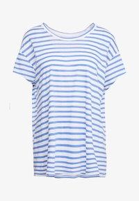CLOSED - Print T-shirt - bluebird - 3