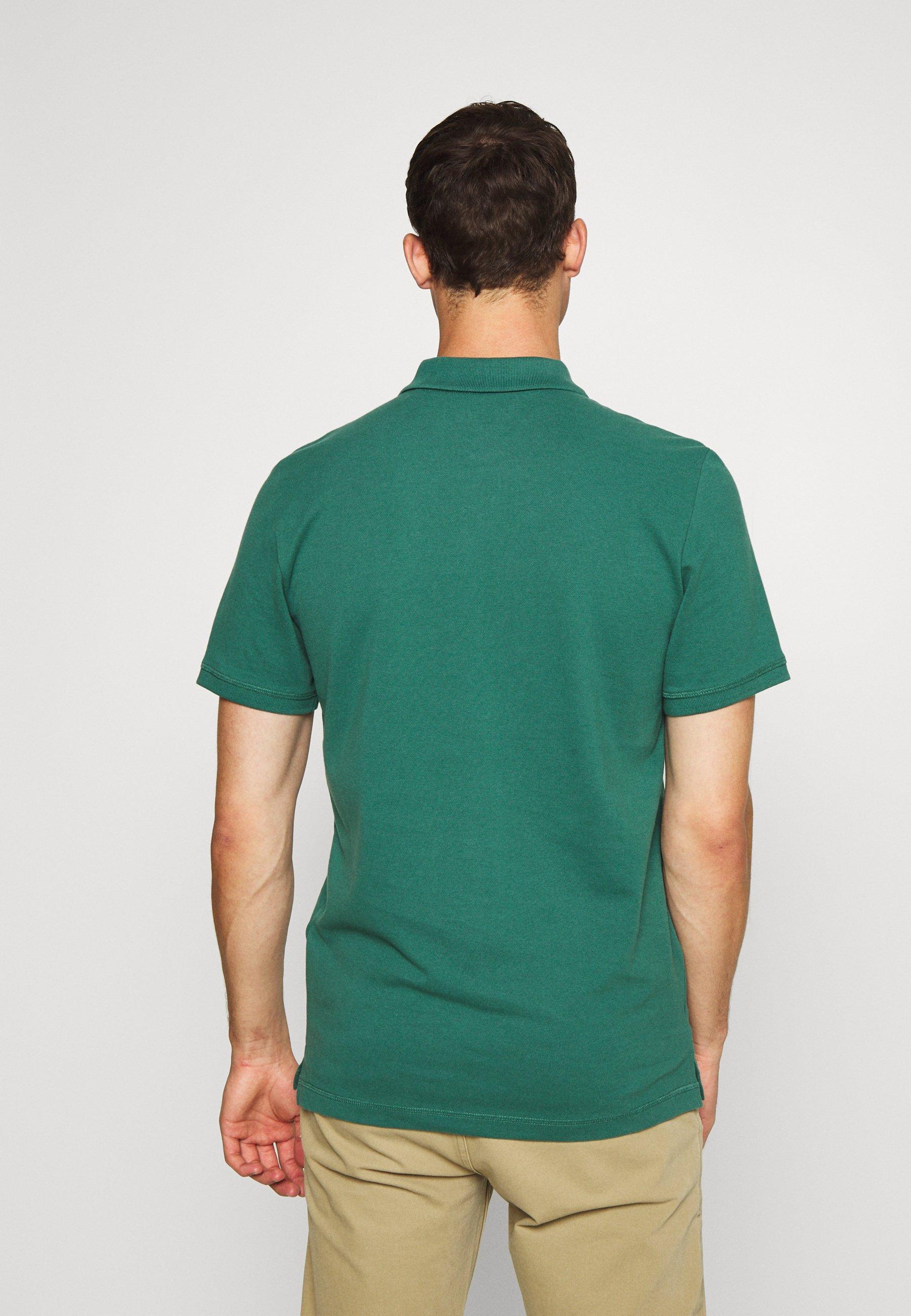 Mustang PAPLO - Polo shirt - mallard green TEiWW
