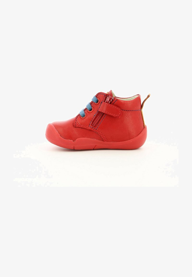 Kickers - WAZZAP - Baby shoes - rouge