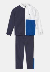 Lacoste Sport - SET UNISEX - Træningssæt - navy blue/white/lazuli - 0