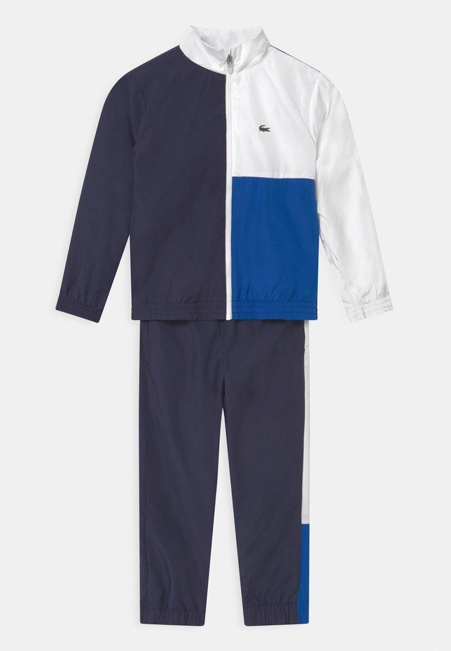 SET UNISEX - Survêtement - navy blue/white/lazuli