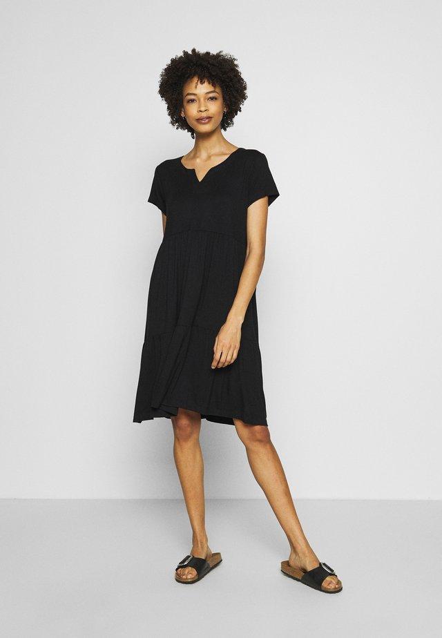 KAPETRA  - Jersey dress - black deep