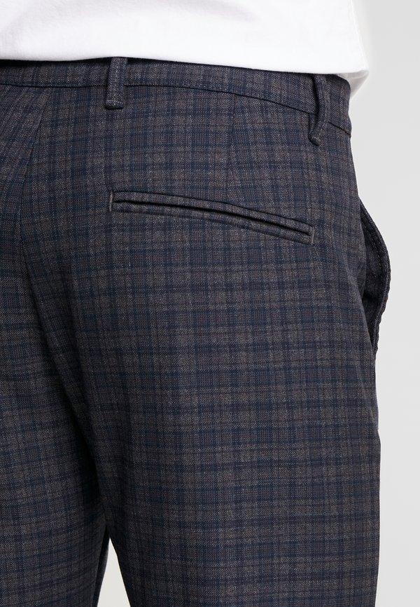 Gabba PISA REDUE PANTS - Spodnie materiałowe - grey check/szary Odzież Męska FYEH