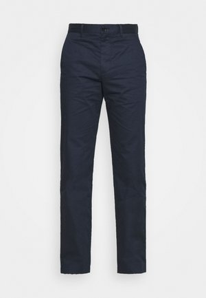 MARCUS LIGHT TWILL TROUSERS - Chinos - navy