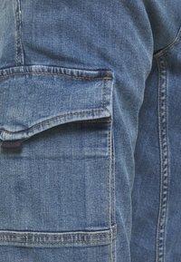 Jack & Jones - JJIPAUL JJFLAKE - Jeans Tapered Fit - blue denim - 3