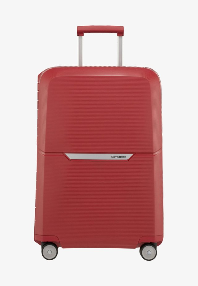 MAGNUM - Wheeled suitcase - rust red