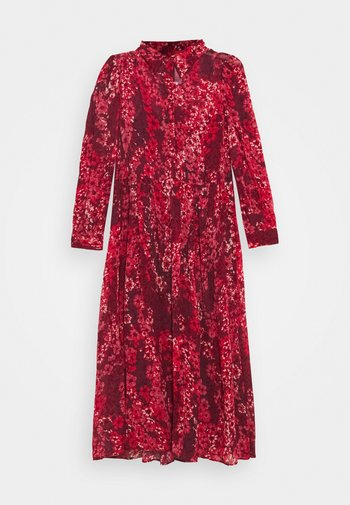 MANSARDA - Shirt dress - burgundy